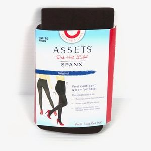 Assents Red Hot Label Spanx Shaping Tights 3C New